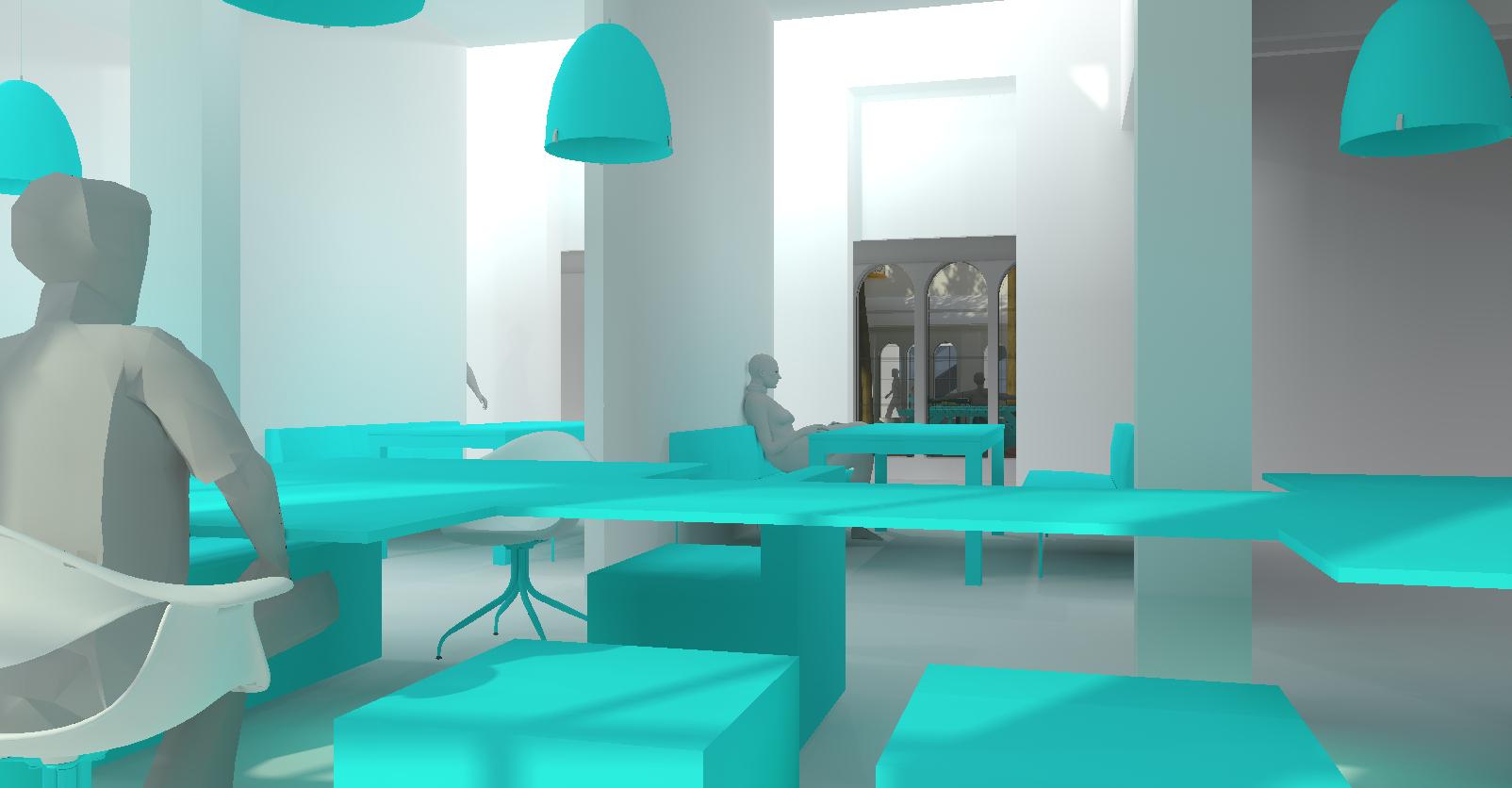 rendering restaurant