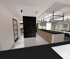 keuken glas