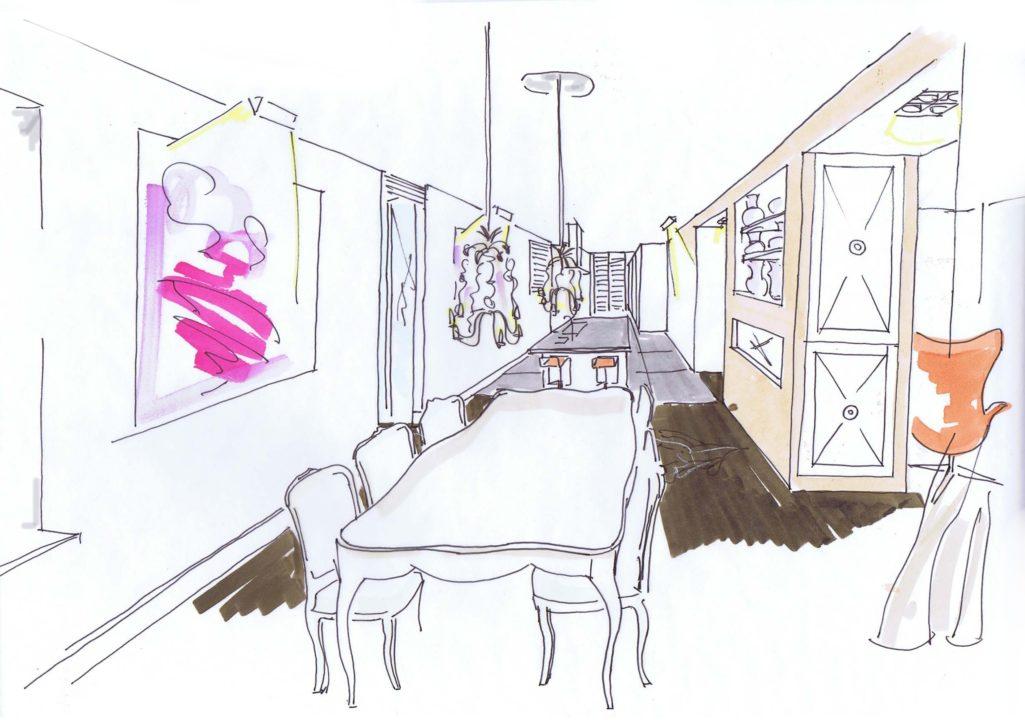 eetkamer ri keuken