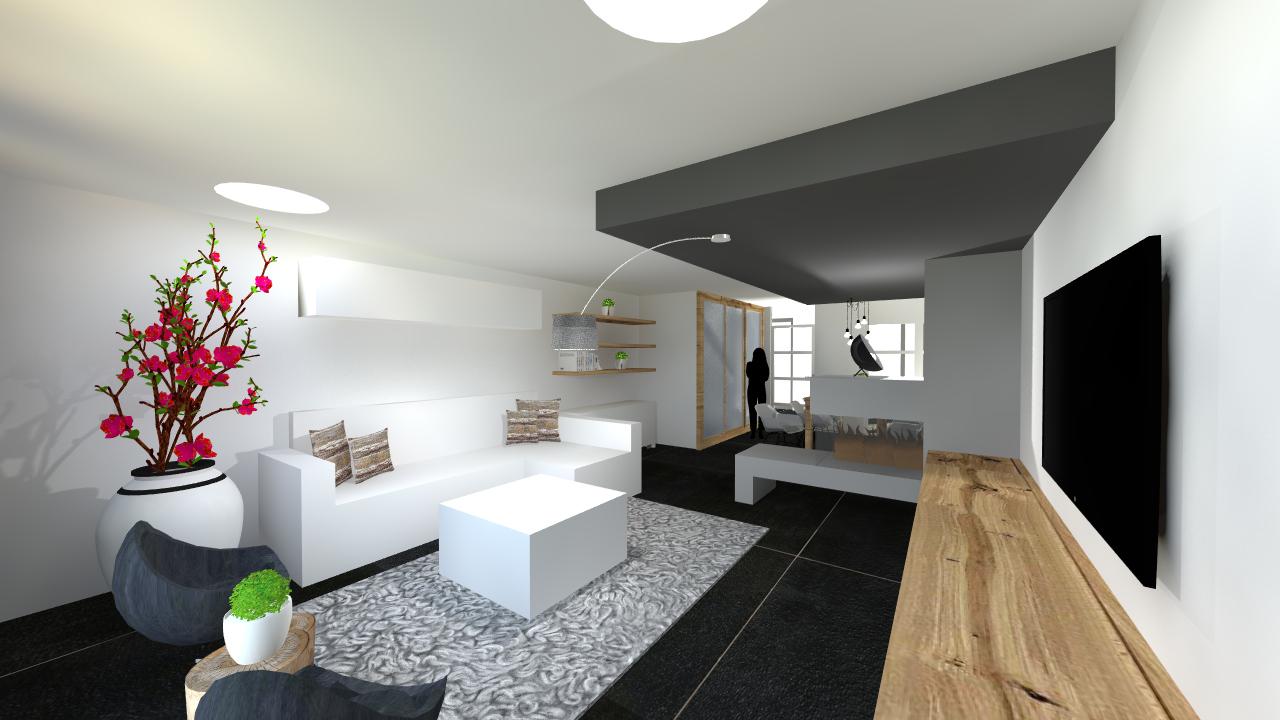 Ontwerp woonkamer - Van Keulen Ontwerp Interieurarchitectuur